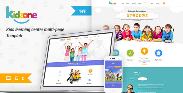 Kidzone - Children Kindergarten Wordpress Theme - YoloTheme