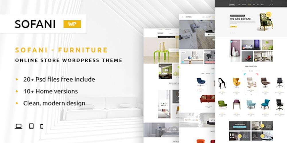 Sofani - Furniture Store WooCommerce WordPress Theme - YoloTheme