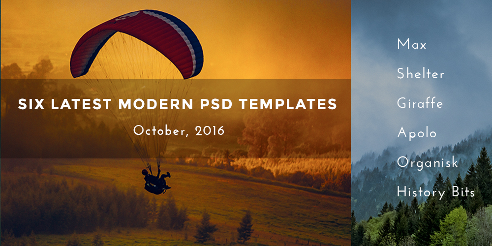 PSD Template in October