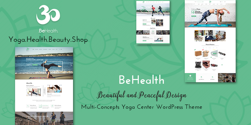 Multi-Concepts Yoga WordPress Theme