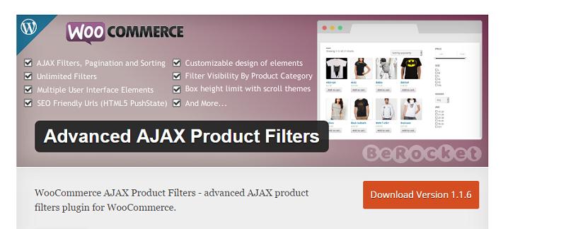 WooCommerce AJAX Filter Plugin