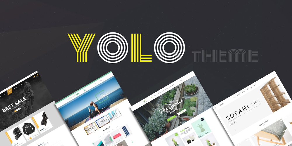 YoloTheme - Premium WordPress Theme with wooCommerce Integrated