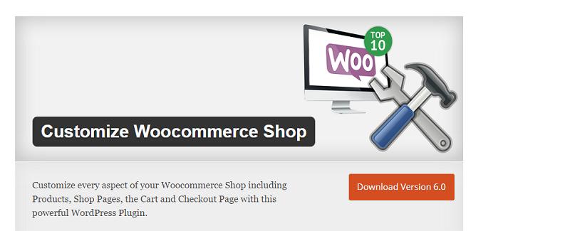 Customize Woocommerce Shop Plugin