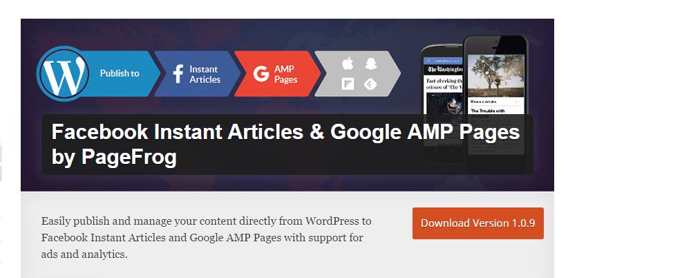 Pagefrog WordPress Plugin