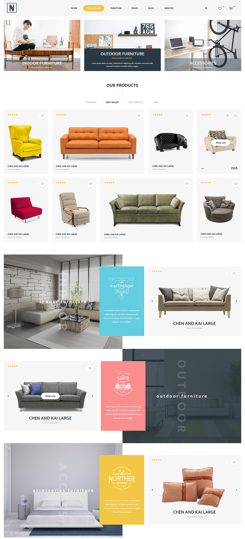 Multi-concepts WooCommerce WordPress Theme