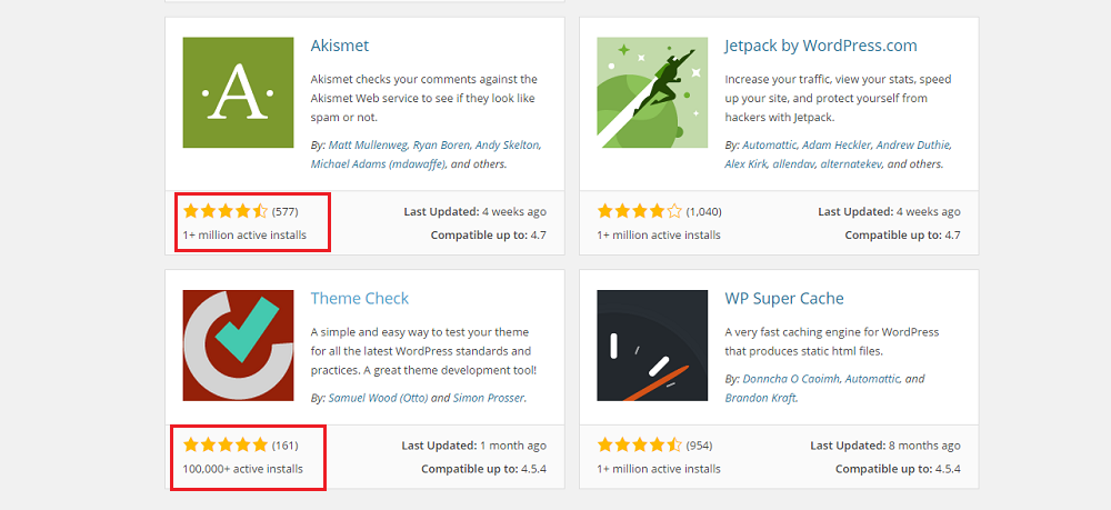 Review for WordPress Plugins