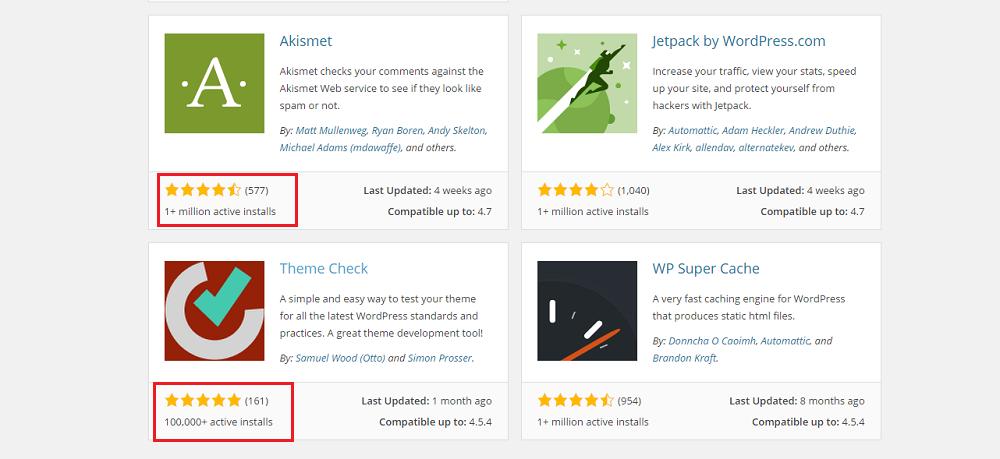 Review for WordPress Plugins