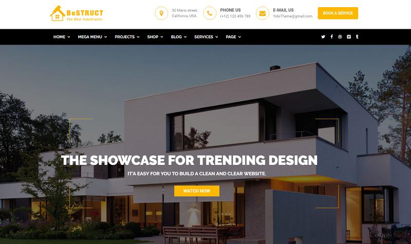 Construction WooCommerce WordPress Theme