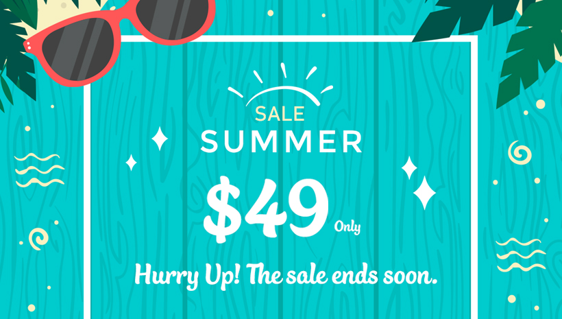 e6667e51529 Hello Summer Sale 2018!  49 Only on Every Premium Theme - YoloTheme