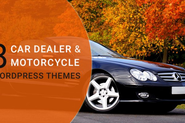 Best Car Dealer & Motorcycle Store WordPress Themes 2018