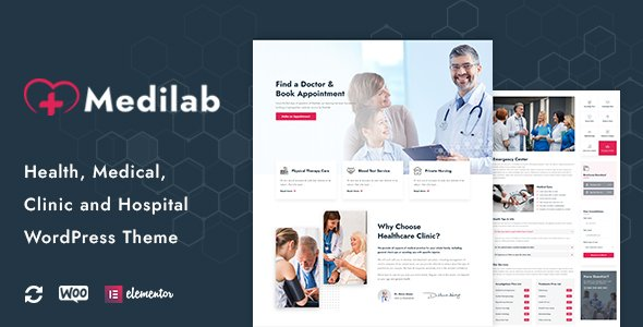 Medilab – The Best Health&Medical WordPress Theme You Should Try