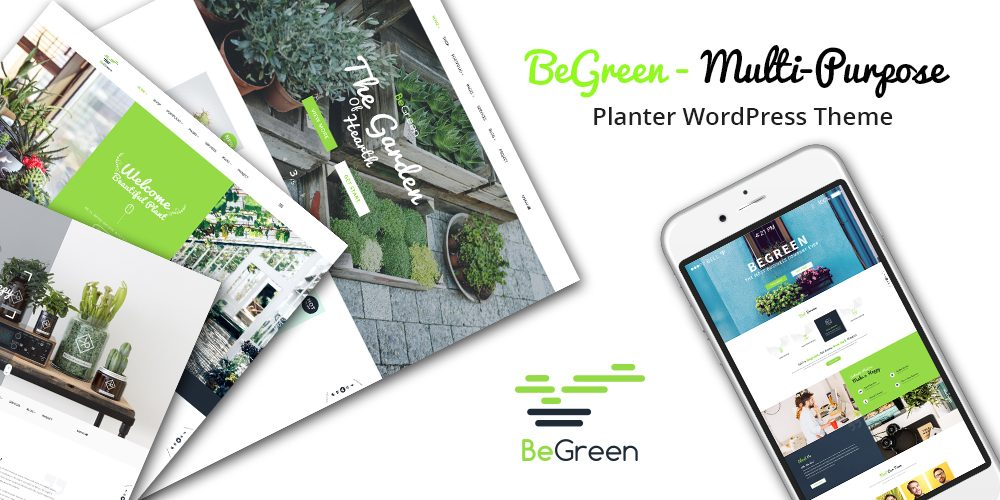 Planter, Gardening & Landscaping WordPress Theme