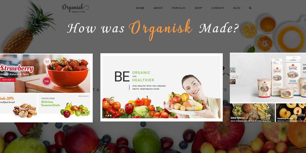 Organic Store Template