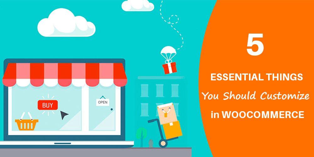 Customize in WooCommerce