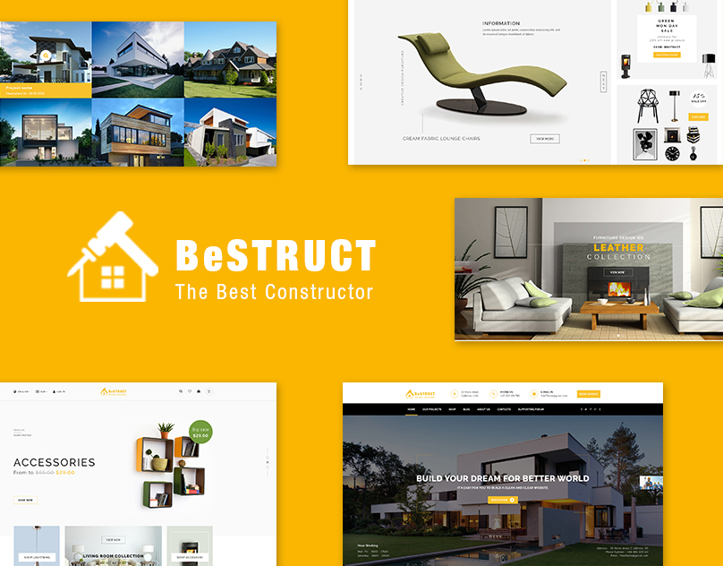 Construction & WooCommerce WordPress Theme